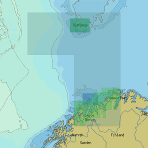 Chartworld NO002- Norway - West Finnmark & Troms