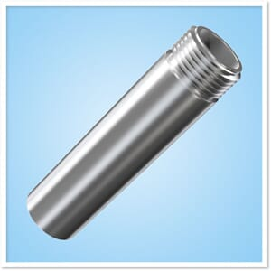 Adapts 1-14 male thread to 1-11 BSP female thread - stainl