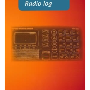 GMDSS Radio Log Book, NOR/NIS