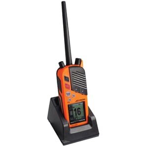 Tron TR30 GMDSS  VHF Radio w. Chg and  Bat.