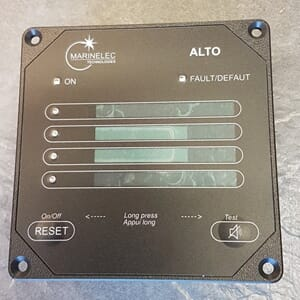 4 channels customizable alarm panel