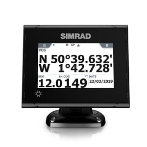 Simrad P2005 GPS system with GS70 Antenna.